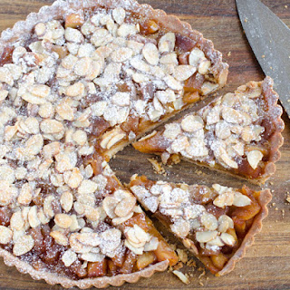 Apple Nougat Tart