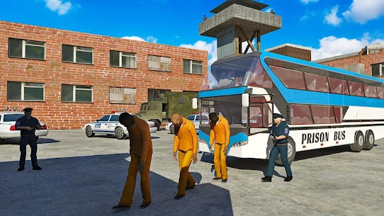US Prison Transport: Police Bus Driving – Unlocked MOD APK Android 1