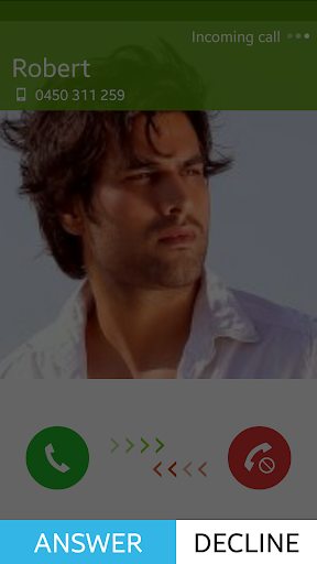 Easy to answer Incoming Calls
