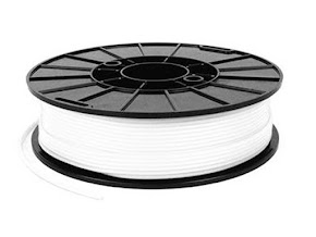 NinjaTek NinjaFlex Snow White TPE Filament - 3.00mm (0.75kg)
