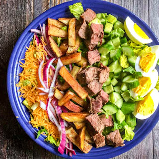 Pittsburgh Cobb Salad & Creamy French Dressing