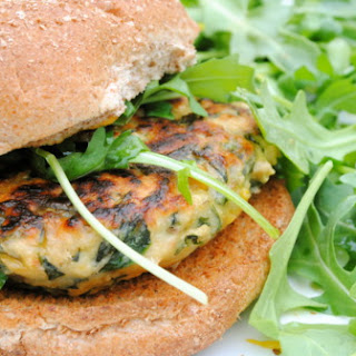 Spinach and Chickpea Burgers.