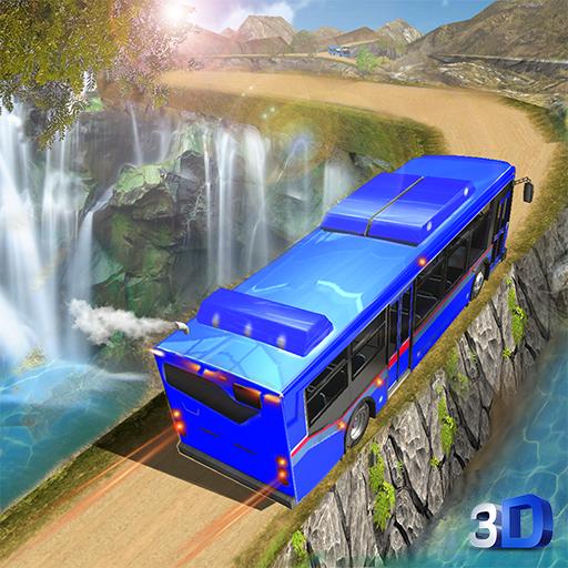 Hill Tourist Bus Driving