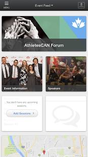 AthletesCAN - náhled