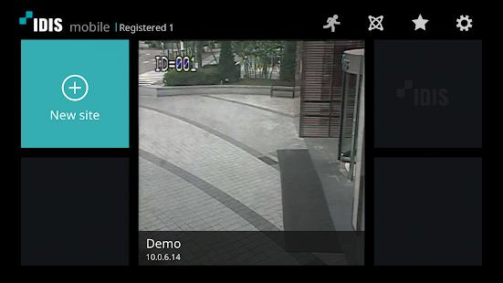 IDIS Mobile - náhled