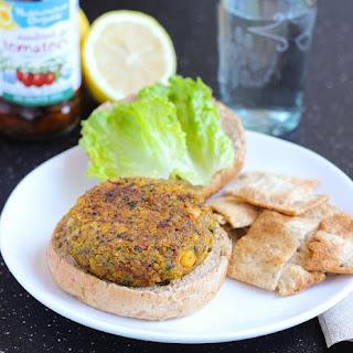 Mediterranean Chickpea Burgers