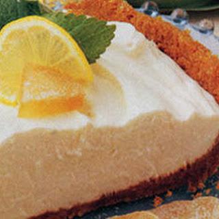 Lemon Ginger Cheesecake Pie