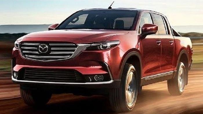 คาดว่า Mazda BT 50 Pro 2020 อาจจะมีรูปโฉมบึกบึน