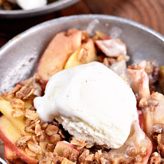 Skillet Apple Crumble