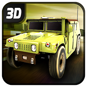 Extreme 4x4 Military Jeep 3D