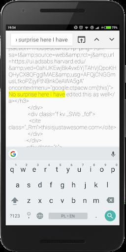 Inspect and Edit HTML Live Pro screenshot 3
