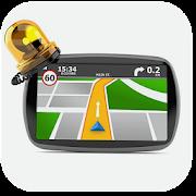 Mapas de tráfego, alertas do Gps Waze