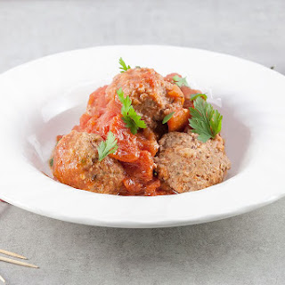 Spanish Meatballs In Spicy Tomato Sauce