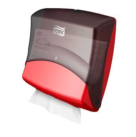Dispens Tork Top-Pak W4 Röd/Sv