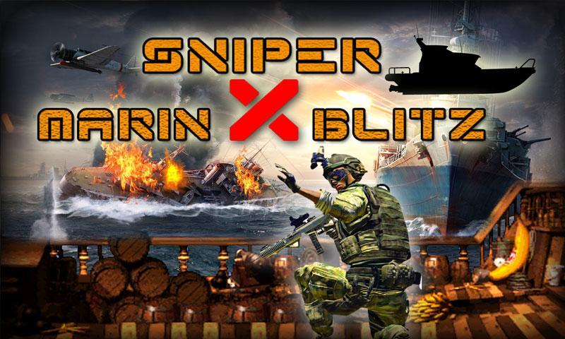 android Sniper X Marine Blitz Screenshot 0