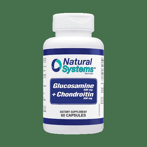 Glucosamine Chondroitin Natural System 500/400 mg x 60caps Natural Systems