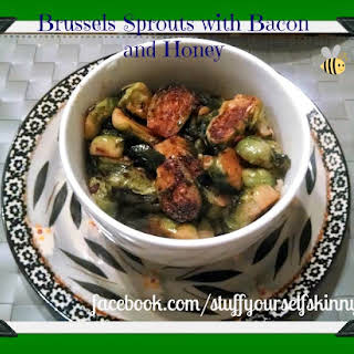 Brussels Sprouts with Bacon and Honey.