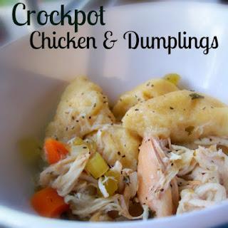 Crockpot Chicken & Dumplings.