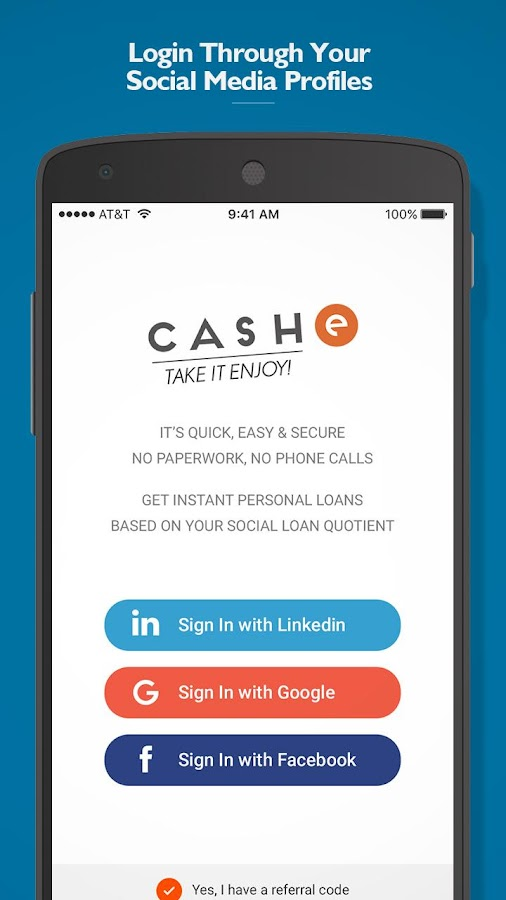 CASHe – Instant Personal Loans- screenshot