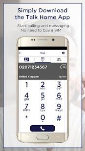 Talk Home App - náhled