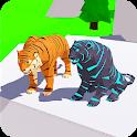 Poly Art Tiger Simulator 2019 icon