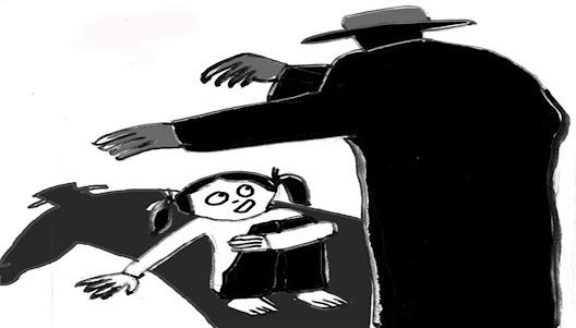 Trẻ bị xâm hại thường phải chịu nỗi sợ hãi và ám ảnh lâu dài (Tranh minh họa)