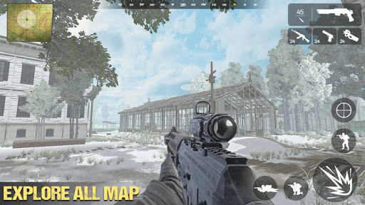 Fire Squad Battleground - Free Shooting Games 2020 android2mod screenshots 5