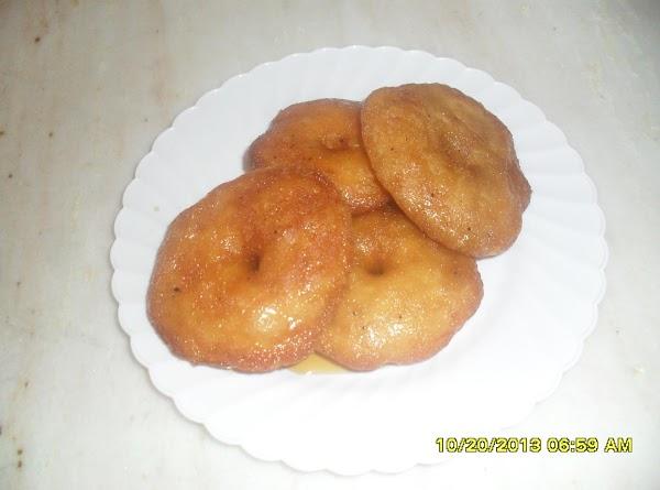 Sweet Vada (jaggery) Recipe