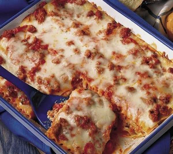 Ellen's Killer Lasagna Recipe