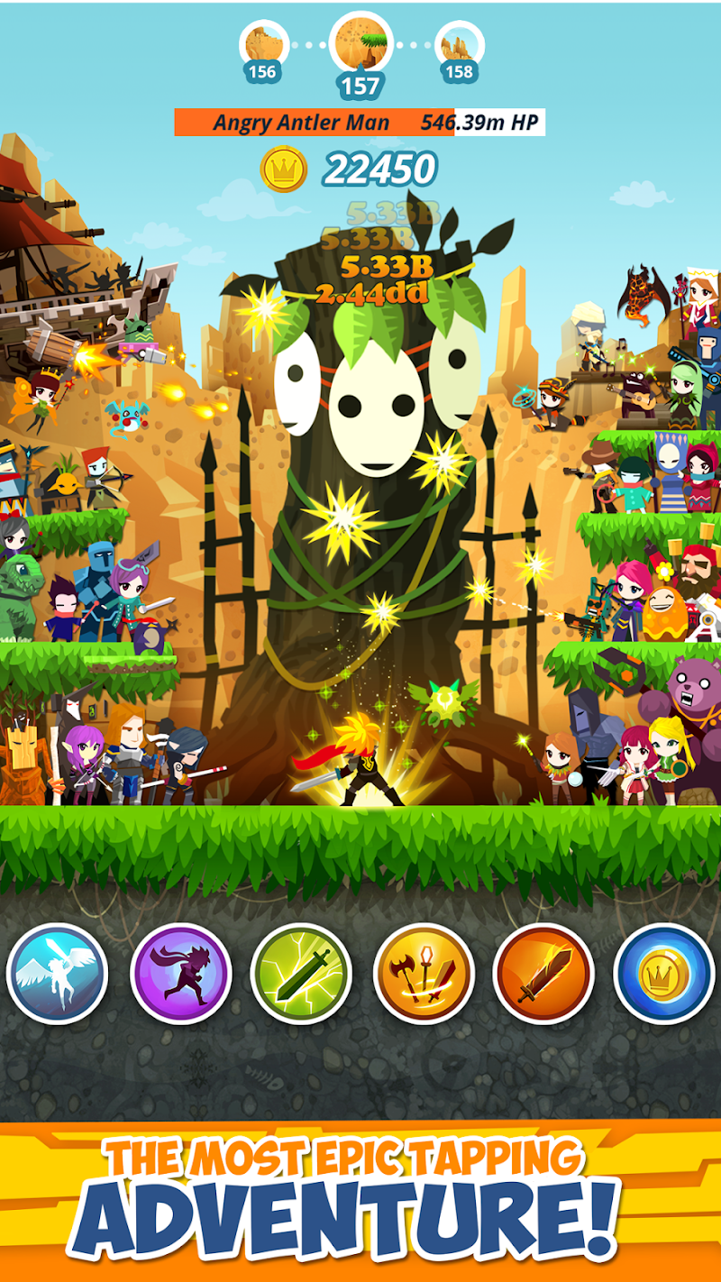Tap Titans 2 Screenshot 1