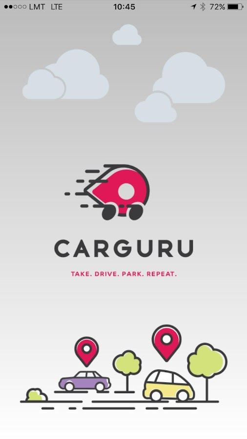 CARGURU - Car sharing- screenshot