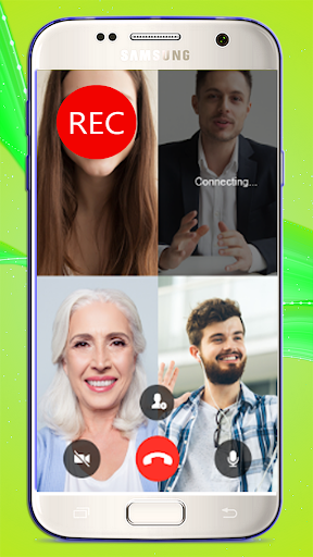 Video Call Recorderu200f & Screen Recorder,  Editor 1.0 screenshots 1