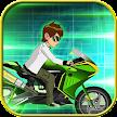 Ben Alien Rider Motor Fire APK
