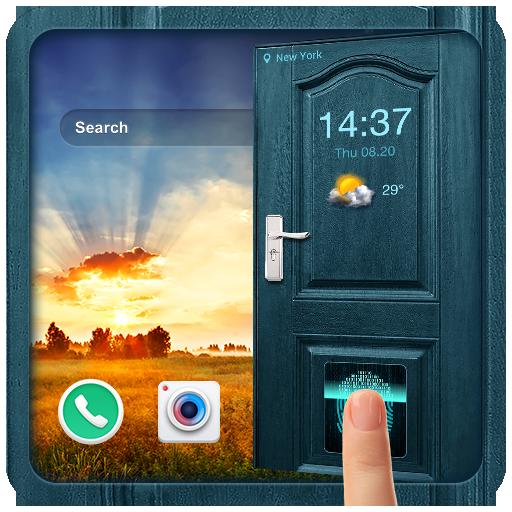 2018 Door Lockscreen with Fingerprint