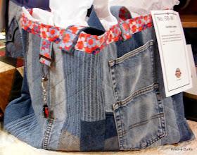 "Photo: #68-W, Sarellen Loomis, ""Jeans Tote"""