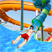 Water Slide Uphill Rush Adventure