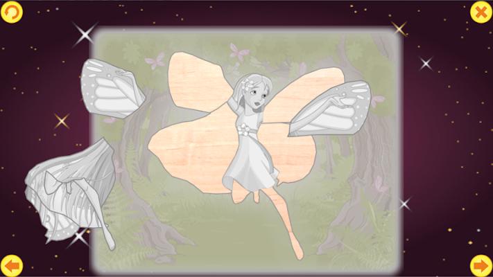 Princess mosaic. - screenshot