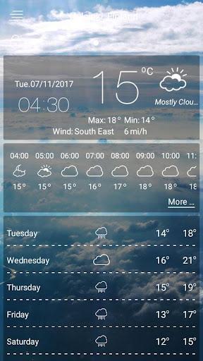weather - weather forecast  screenshots 4