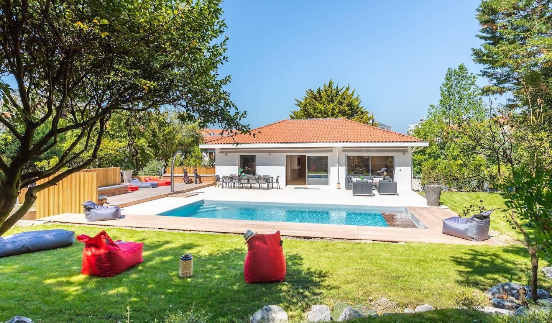 Villa avec piscine en bord de mer Biarritz