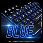 Moderno Azul Teclado icon