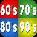 60s 70s 80s 90s 00s Music hits Retro Radios icon