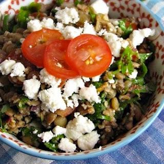 Lentil and Feta Tabbouleh Recipe
