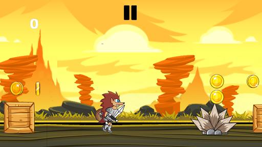 Warrior hedgehog