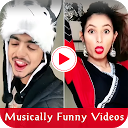 Musically Funny Videos icon