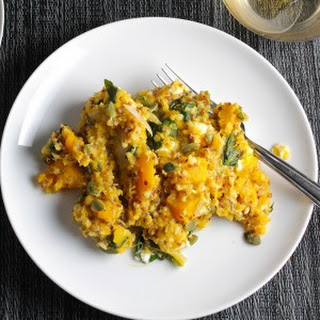 Butternut Squash and Quinoa Casserole