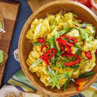 Rachael's Curry Deviled Egg Salad.
