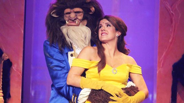 Escena de La Bella y la Bestia, el Musical.