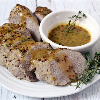 Maple-mustard Pork Tenderloin.