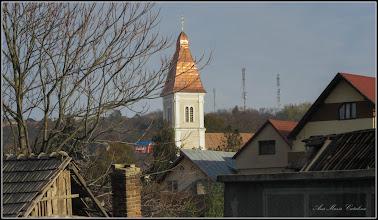 """Photo: Str. Ghe. Lazăr, Nr:17,19 - Biserica """"Adormirea Maicii Domnului"""" – Turda Veche (""""Biserica Rățeștilor"""") - vedere de pe Str. Aurel Vlaicu - 2017.11.01"""