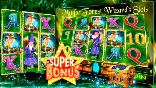 Magic Forest Wizard's Casino Slots